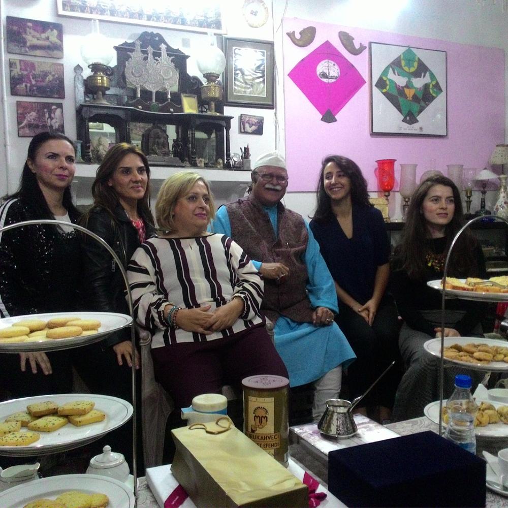 Tea with Nawab